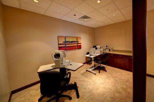 Eye testing center